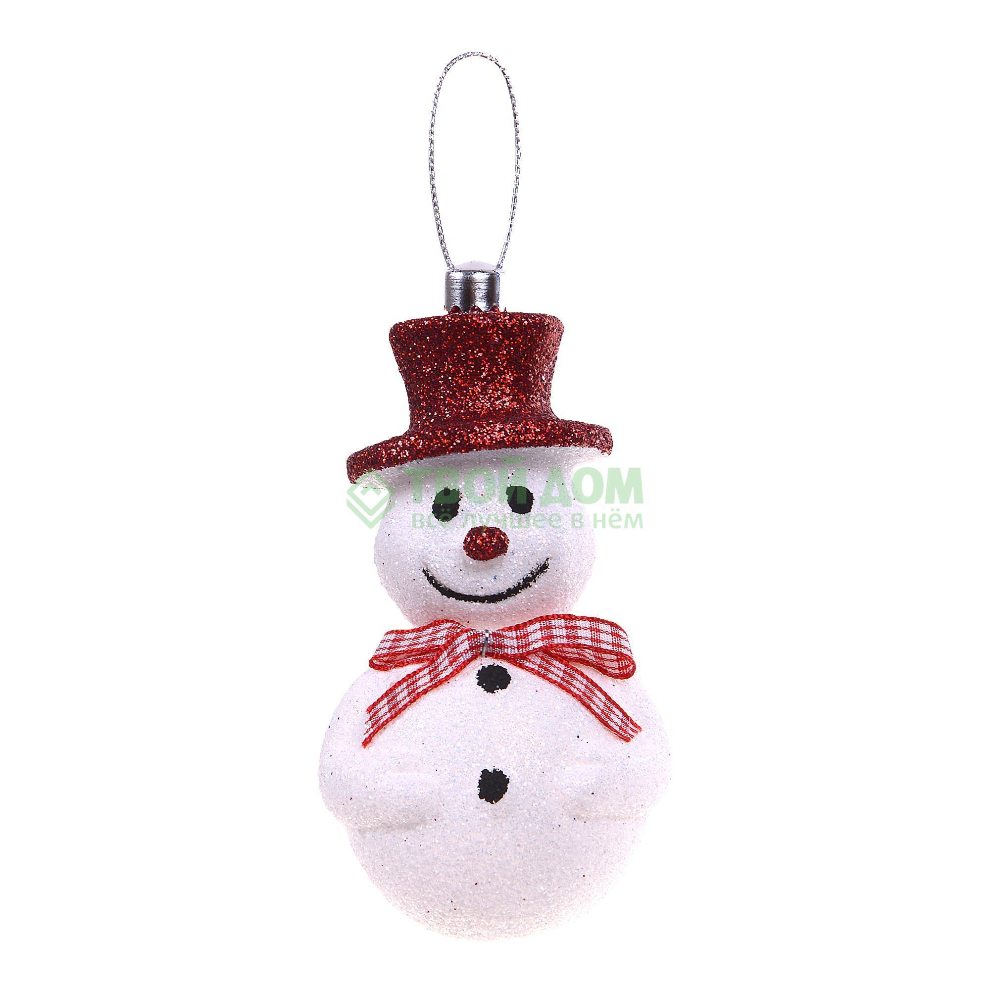 Фигурка Weiste Снеговик в шляпе 100см красный (88870)