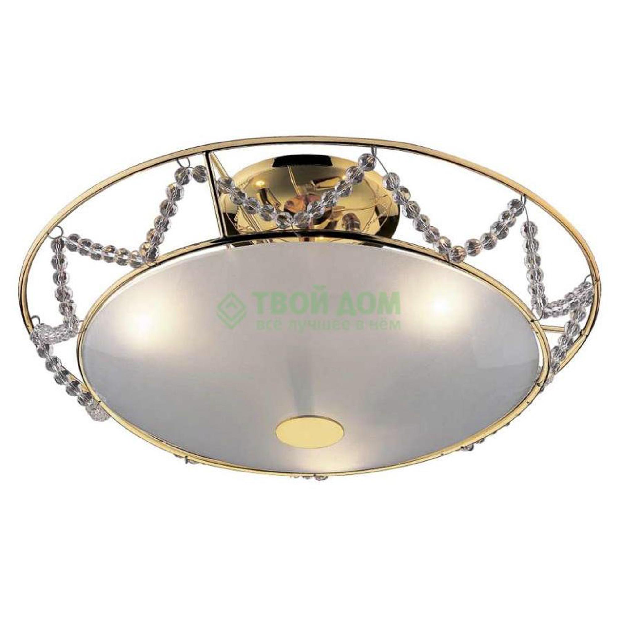 Купить Люстра потолочная ODEON Gota Gold (1424/3), люстра потолочная, Испания