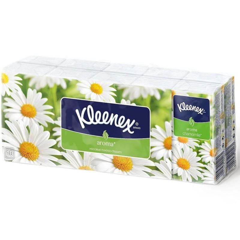 Носовые платки Kleenex Ромашка 10х10 шт