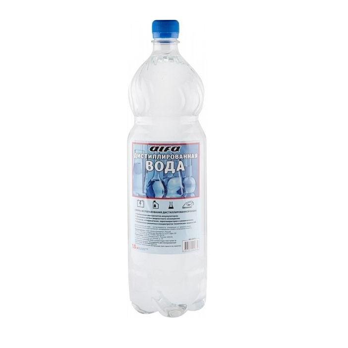 Вода дистиллированная Технохим-сервис 1.5л