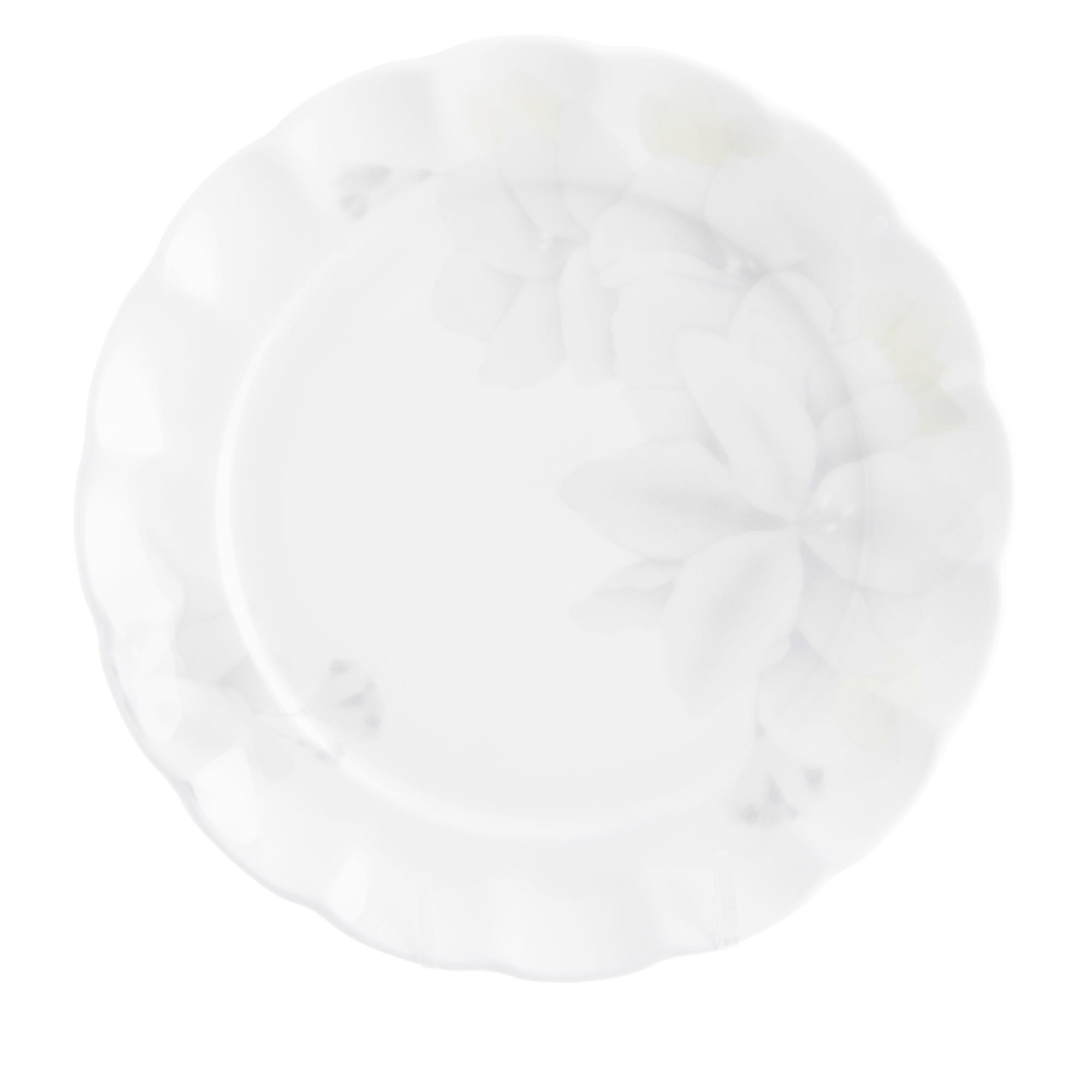 Фото - Набор тарелок мелких Hatori Магнолия 18 см 6шт грэй тарелки три кота желтый 7 18см 6шт