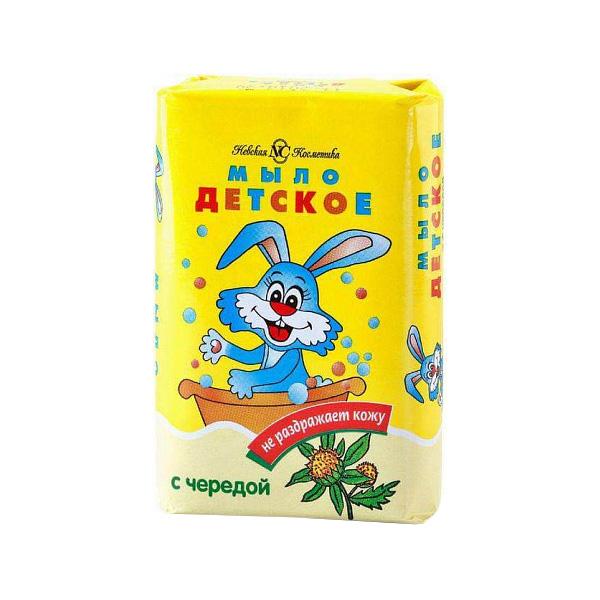 Детское мыло Невская Косметика С чередой 90 г