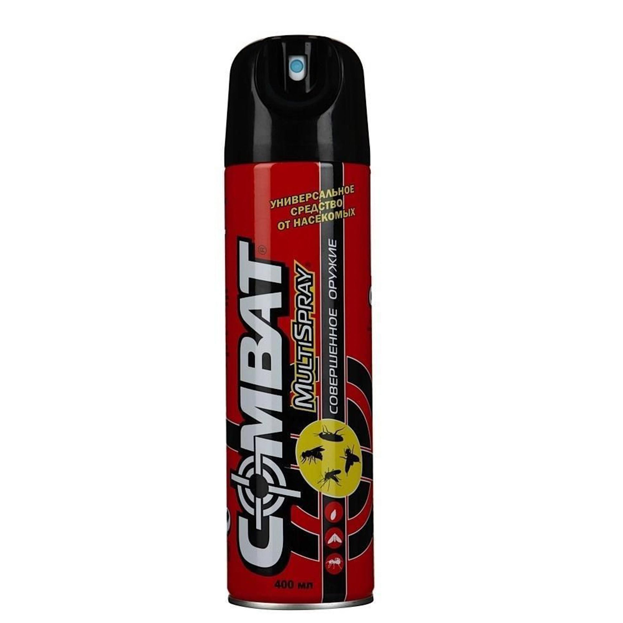 Аэрозоль от насекомых Combat Multi Spray 400 мл