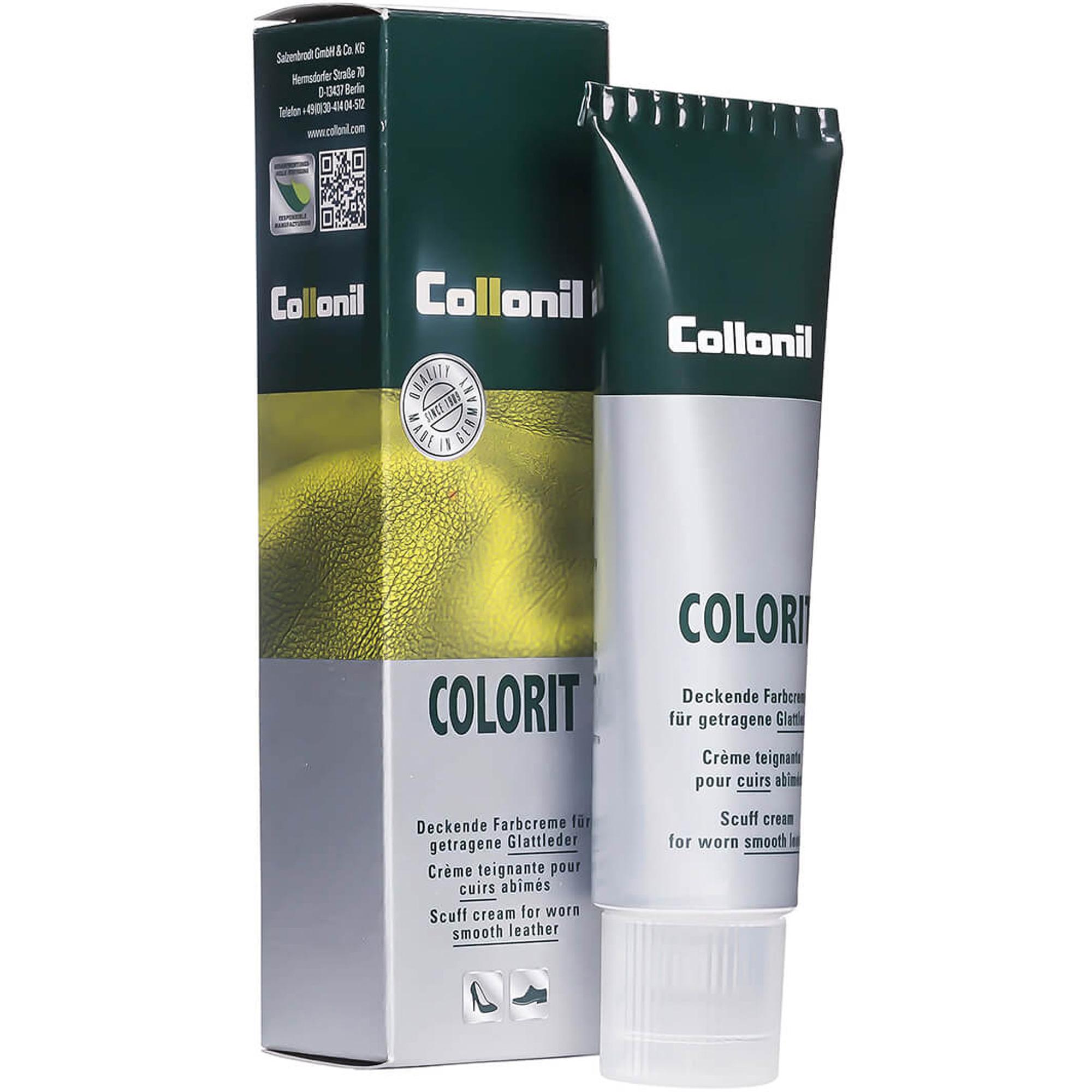 Крем Collonil Colorit черный 75 мл крем collonil colorit tube black