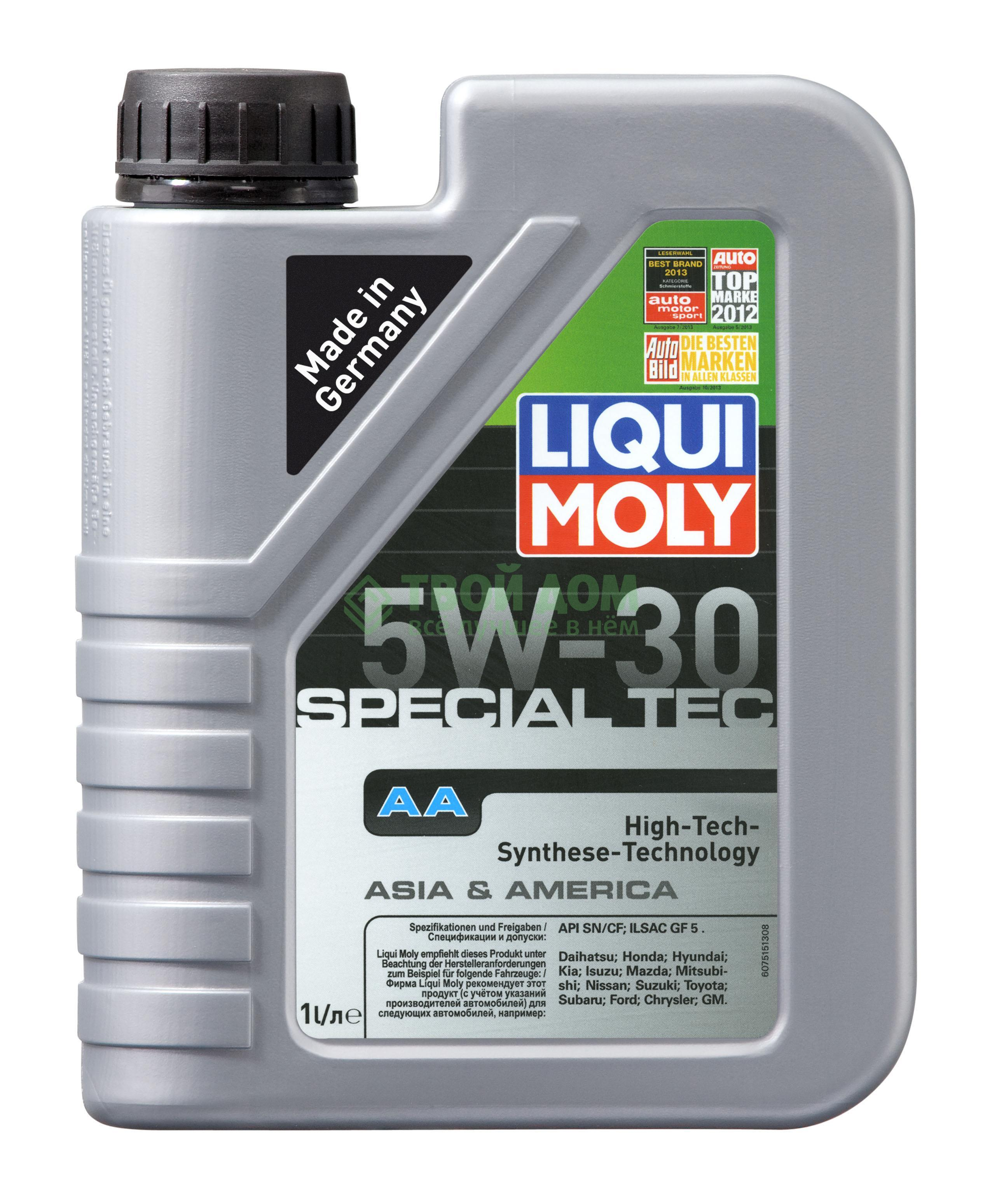 Моторное масло Liqui Moly Hc-синтетическое моторн масло sae 5w-30 (7515)
