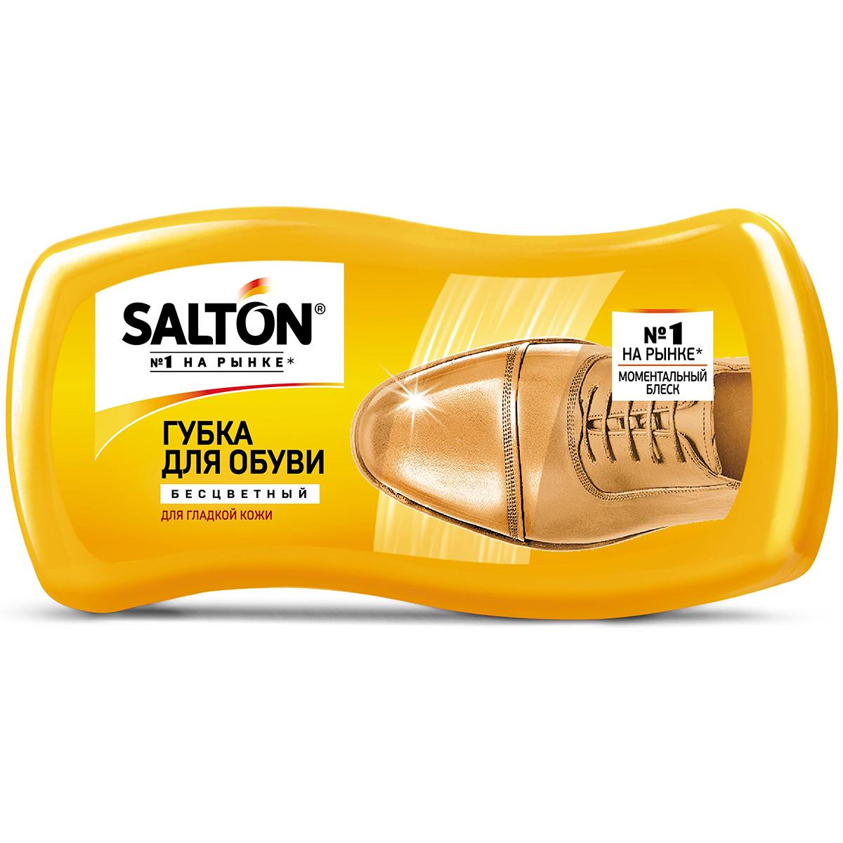 Фото - Губка Salton Волна для обуви из гладкой кожи 52/86 губка для обуви salton волна черная для гладкой кожи с норковым маслом