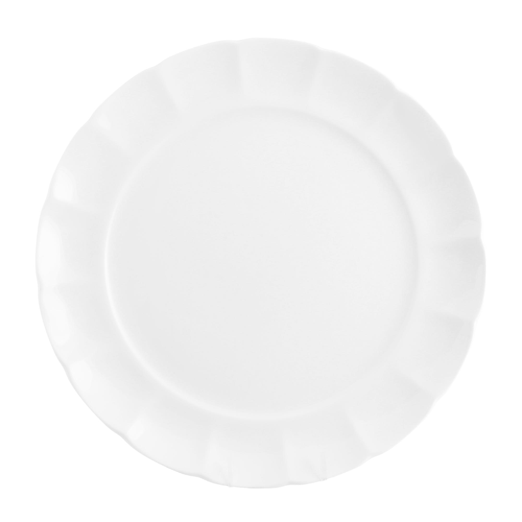 Набор тарелок мелких Hatori 27 см 6 шт бел недорого
