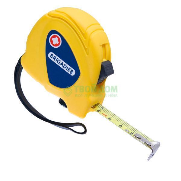 Купить Рулетка BRIGADIER Измерительная Mastertape 3х16мм, Швейцария, желтый, 11036
