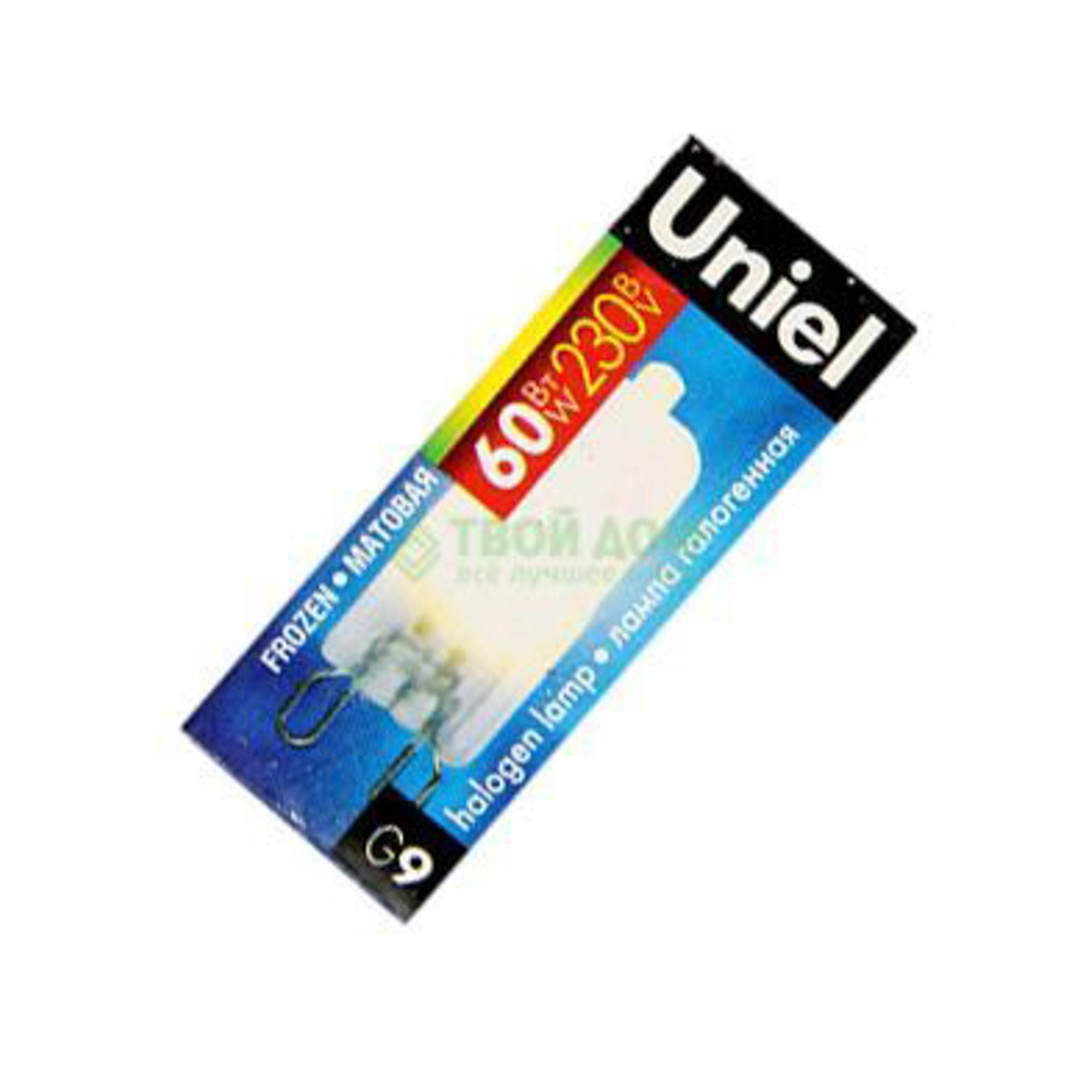 Лампочка галогеновая UNIEL JDC-FR-60/G9