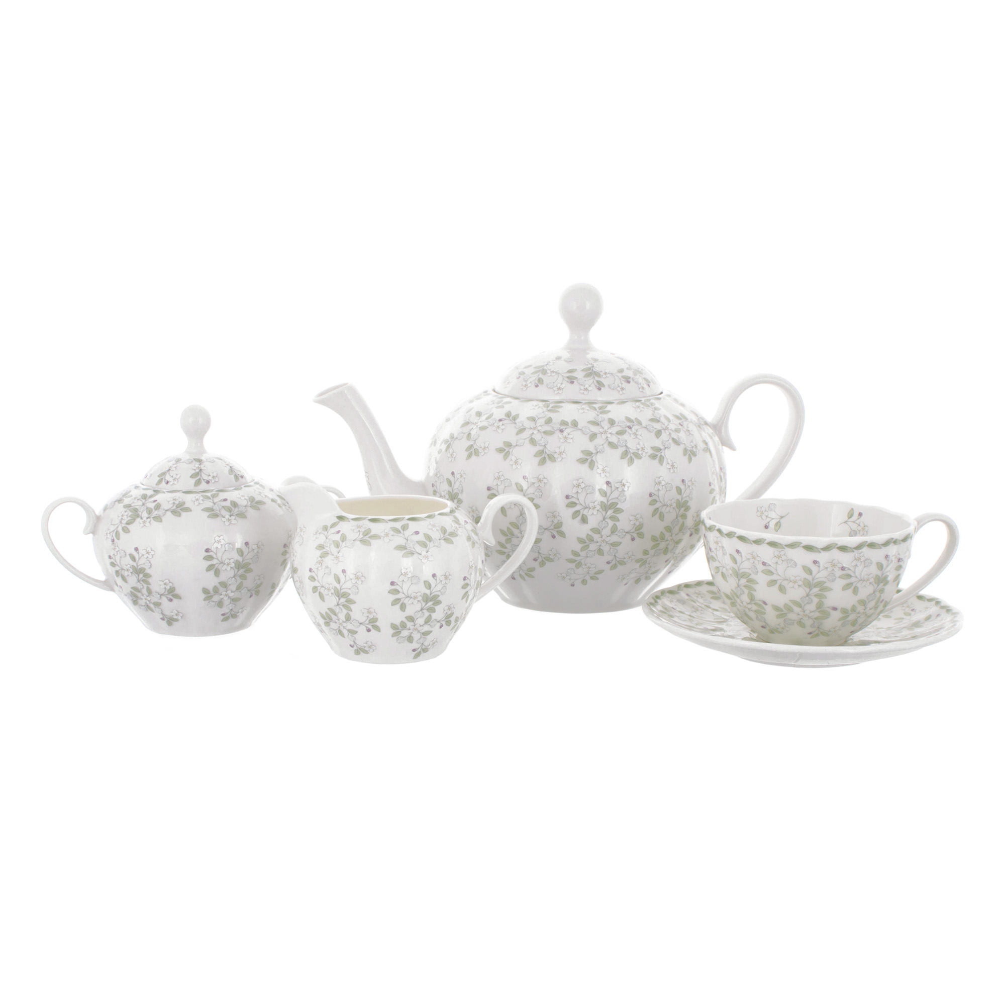 Сервиз чайный Hatori Джулия Грин 17 предметов