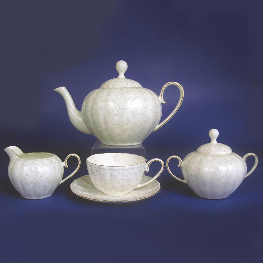 Сервиз чайный Hatori Джулия Беж 42 предмета