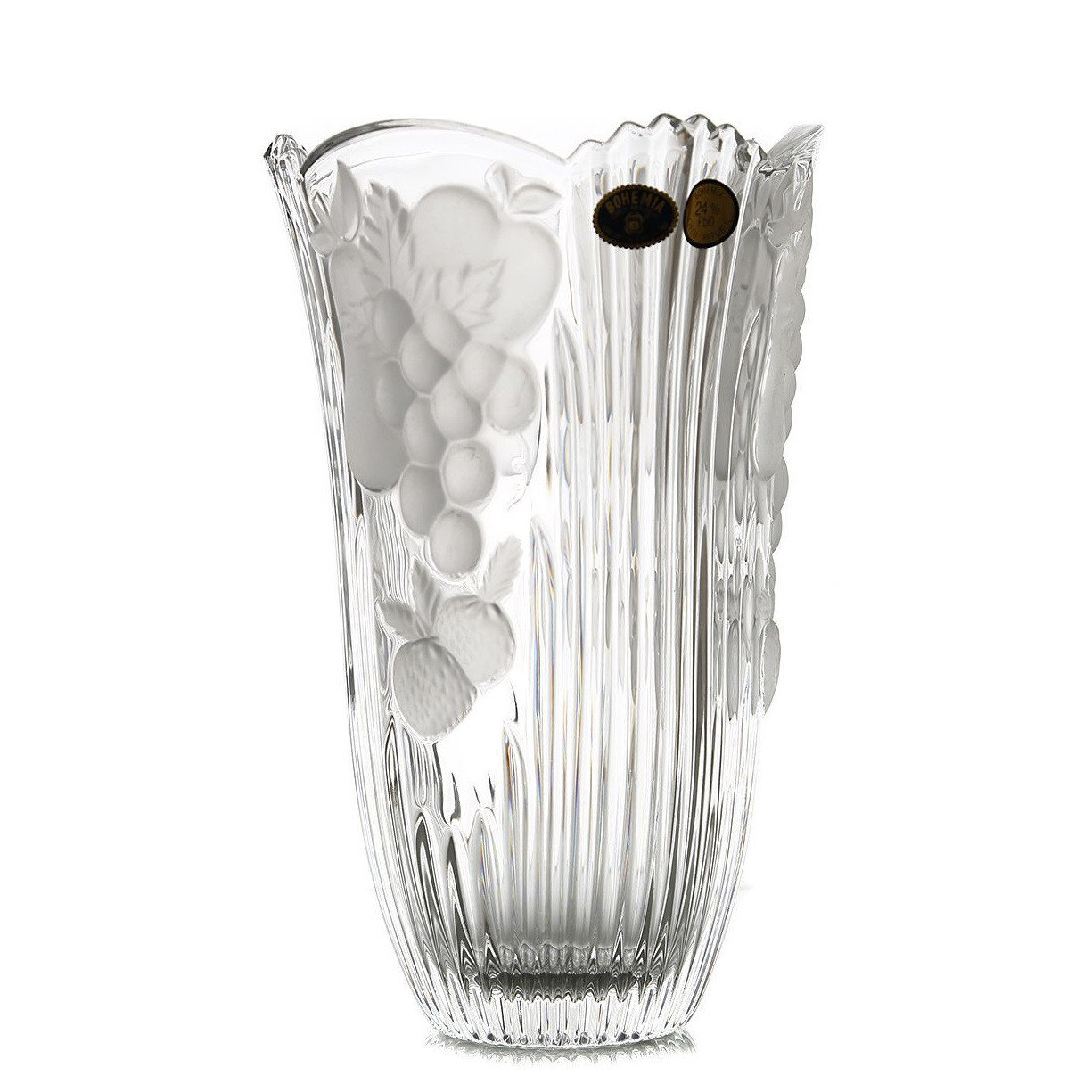 Ваза Crystal Bohemia Фрукты 15,5 см недорого