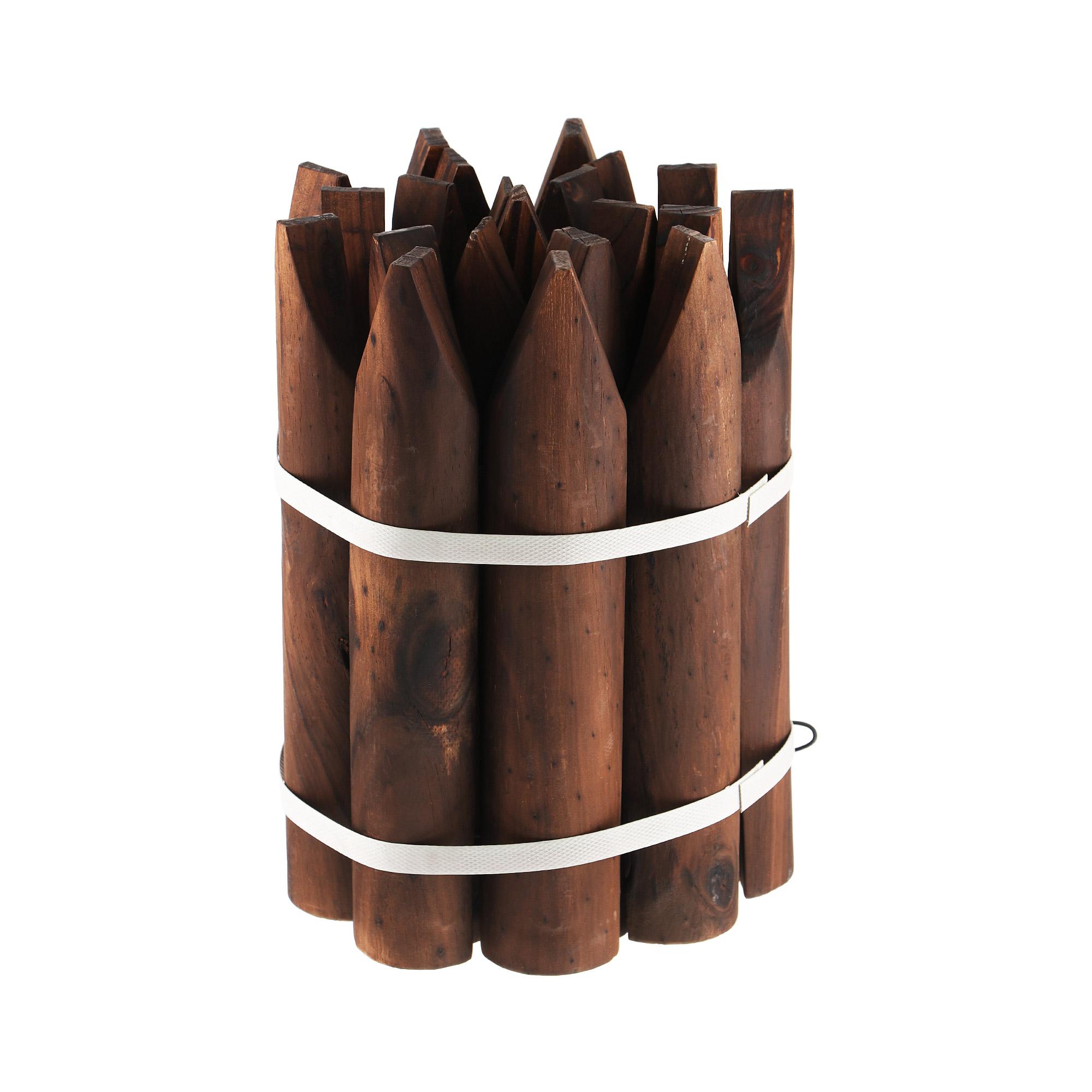 Бордюр деревянный Verdemax m 120x30 cm недорого