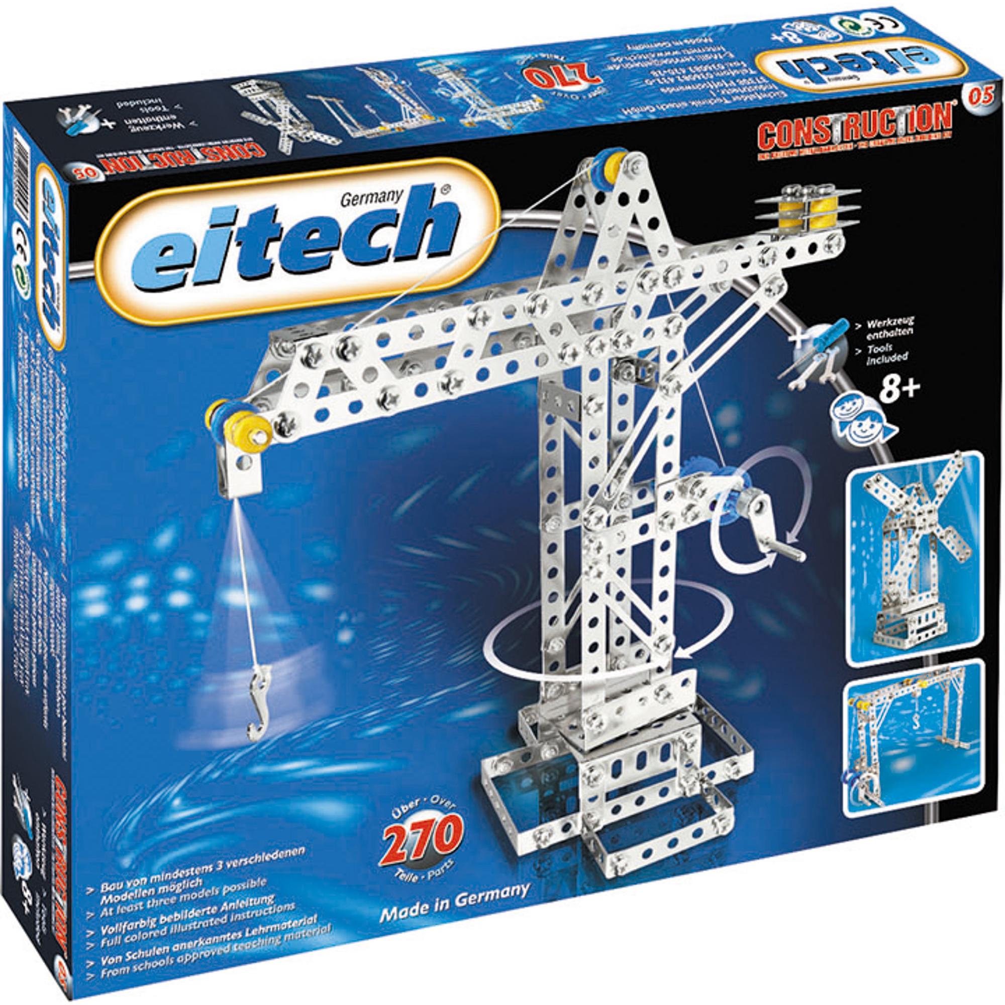 Купить Конструктор Eitech Кран 05, Германия, металл, универсальный, Конструкторы, пазлы