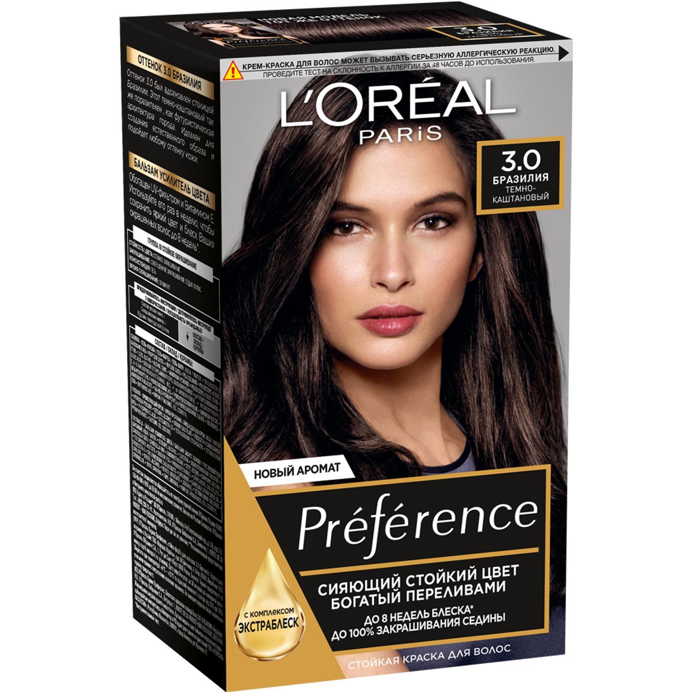 Краска L'Oreal Preference 3 174 мл Бразилия (А3671204).