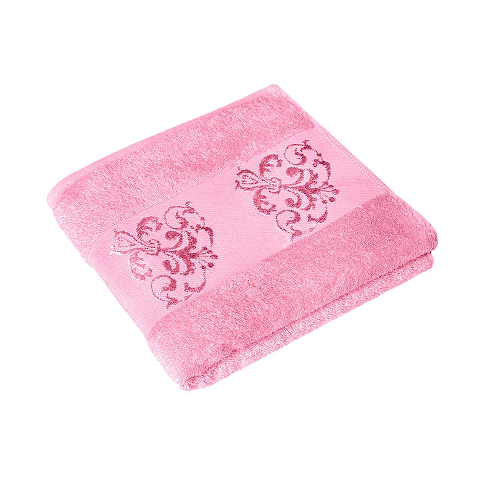 Полотенце MAISONETTE BAMBU 70Х140 pink