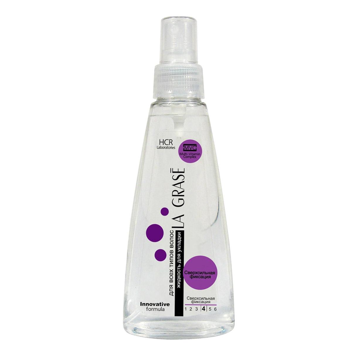La grase Жидкость для укладки волос сверхсильн la grase 6564 фото