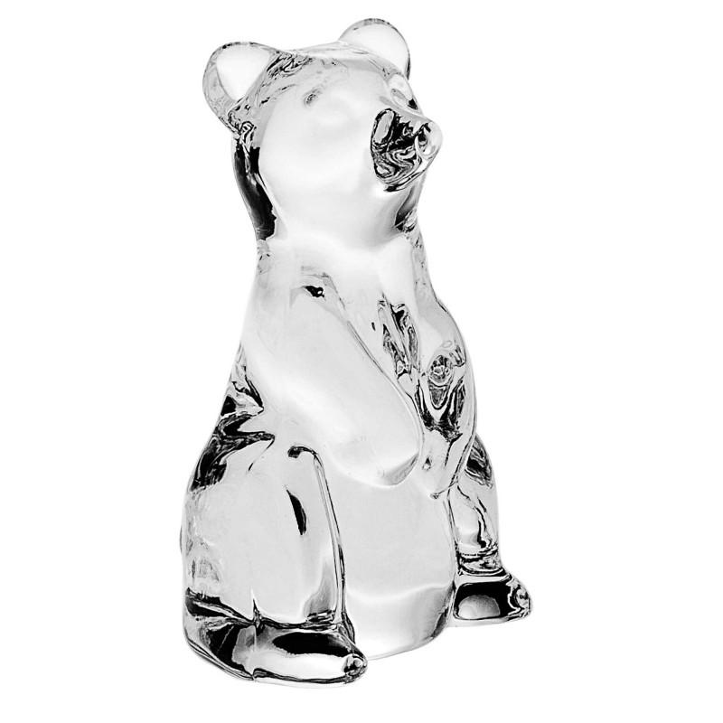 Фигурка Crystal Bohemia Медведь 6,8 см