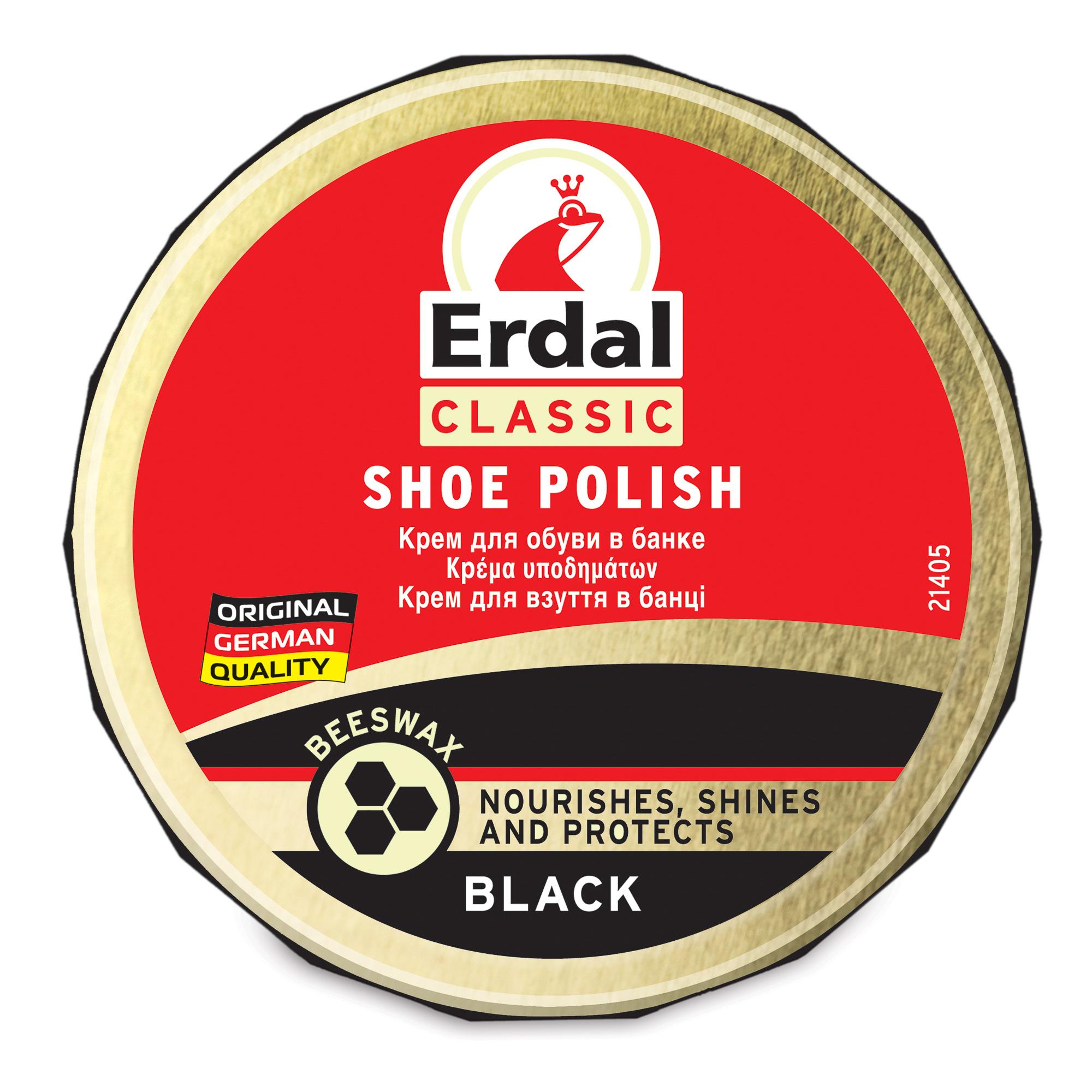 Фото - Крем Erdal для черной обуви 75 гр средство erdal самоблеск бесцветный 75 мл