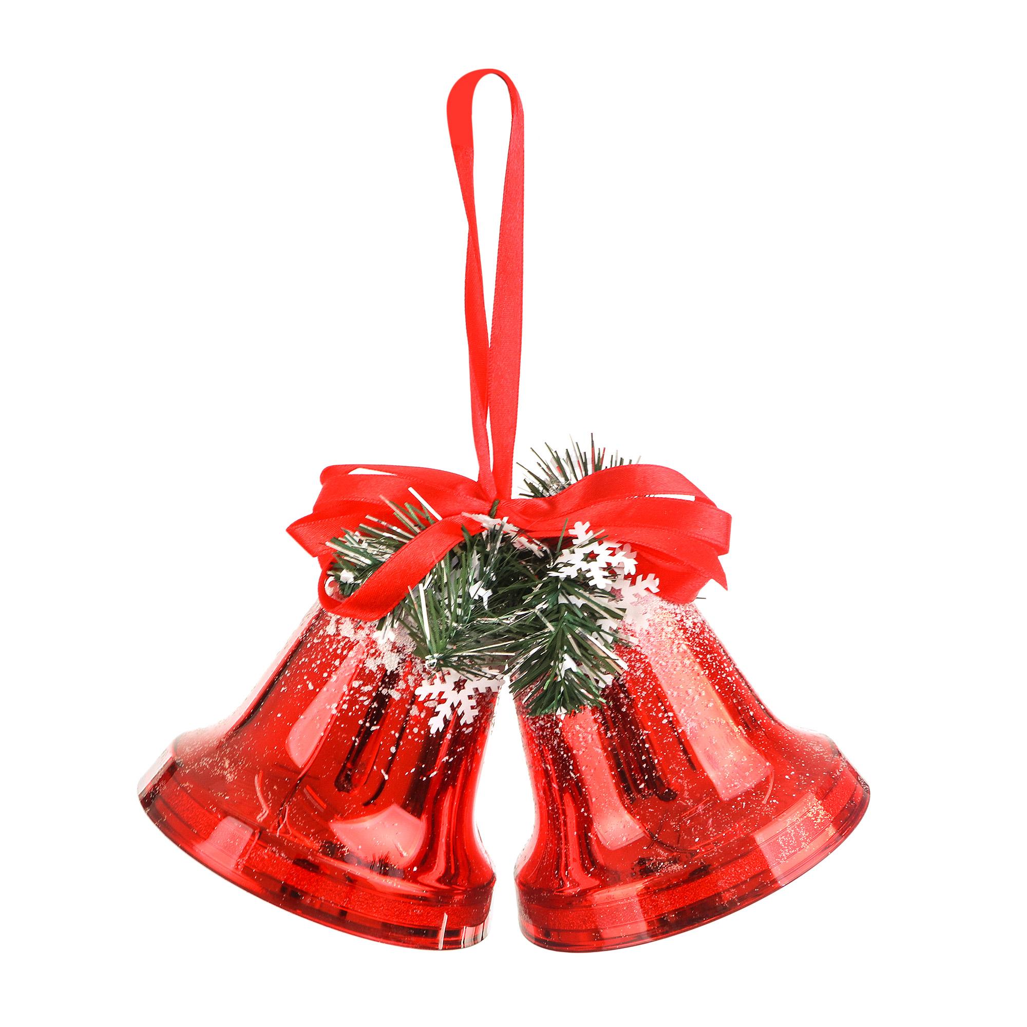 Колокольчики новогодние Weiste 10 см