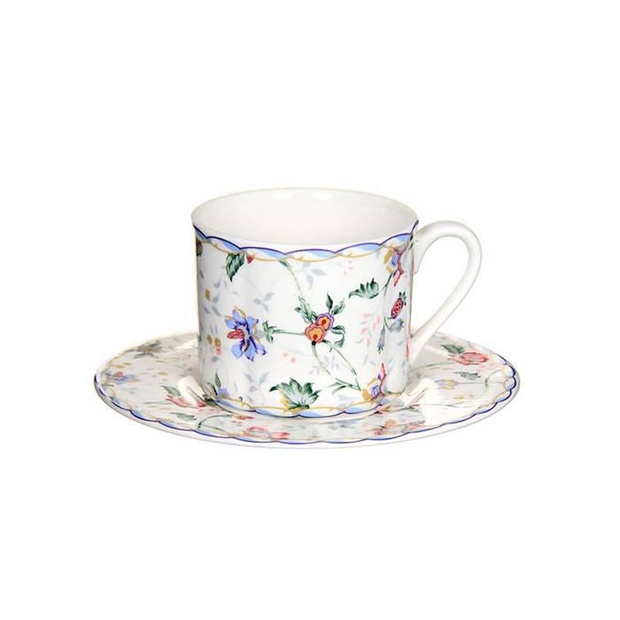 Фото - Чашка с блюдцем 200 мл букингем Imari ложка подставка букингем imf0304 a218al imari
