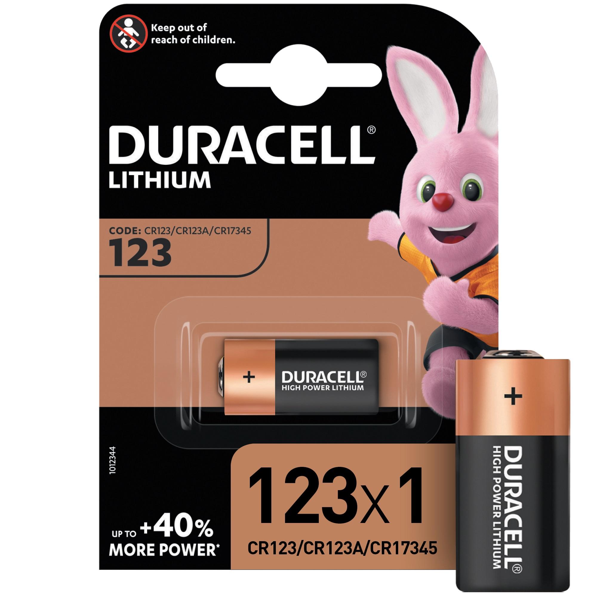 Батарейки Duracell Ultra 123 3В 1 шт фото