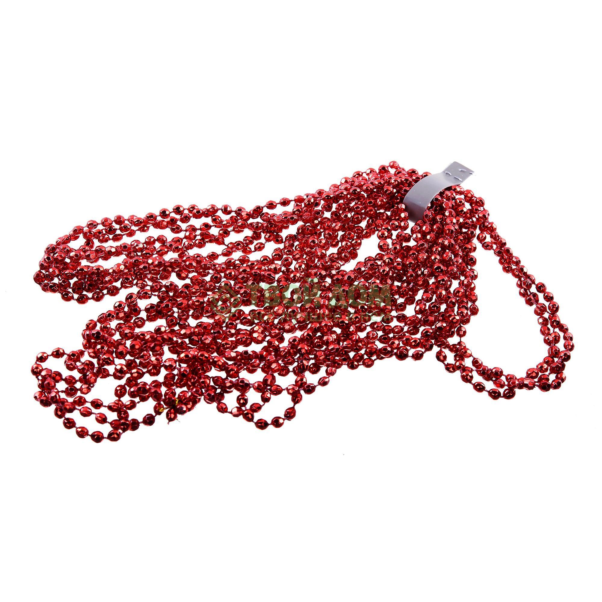 Гирлянда Kaeming из бусинок 270 см, красная