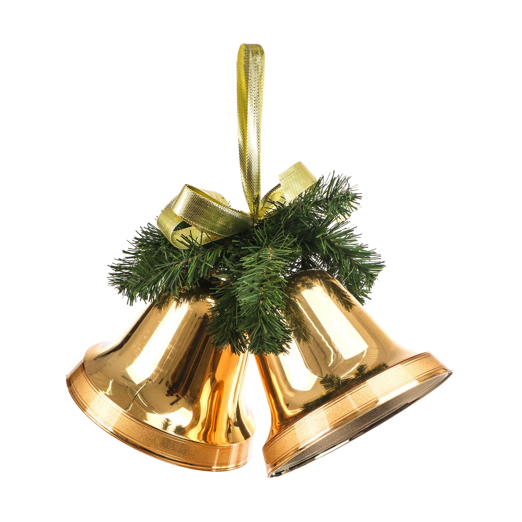 Колокольчики новогодние Weiste 20 см