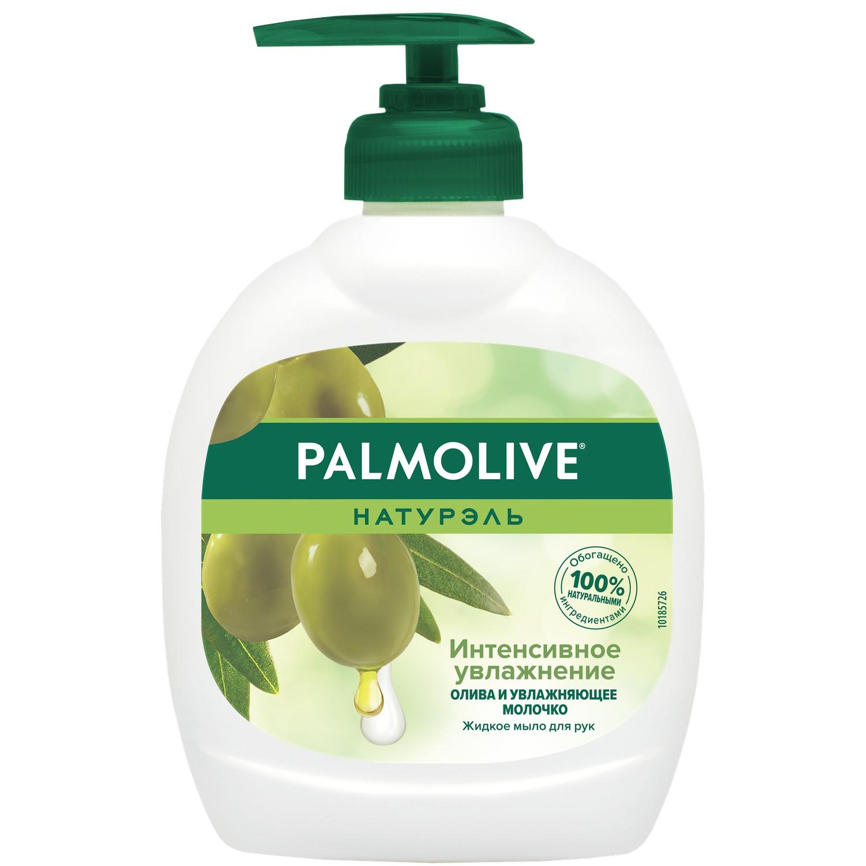Жидкое мыло Palmolive Натурэль Интенсивное Увлажнение Олива и увлажняющее молочко 300 мл фото
