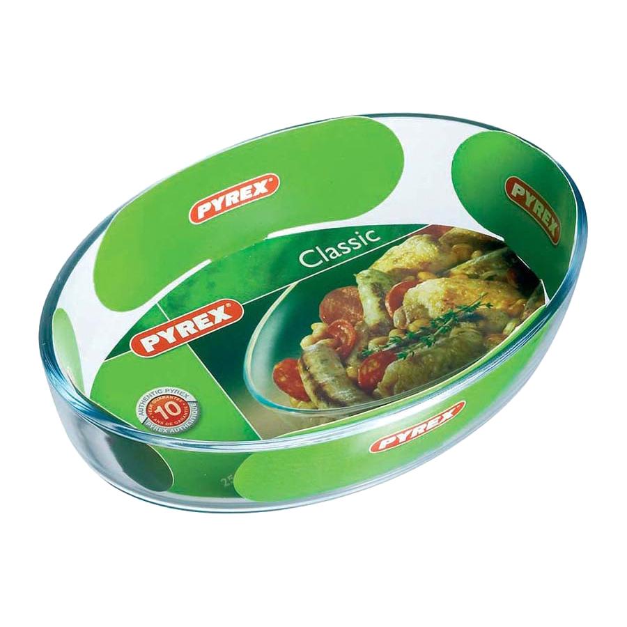форма для запекания pyrex smart cooking 26см 828b000 5046 Форма для запекания Pyrex Classic Glass Овальная 25х17 см (222B000/5046)