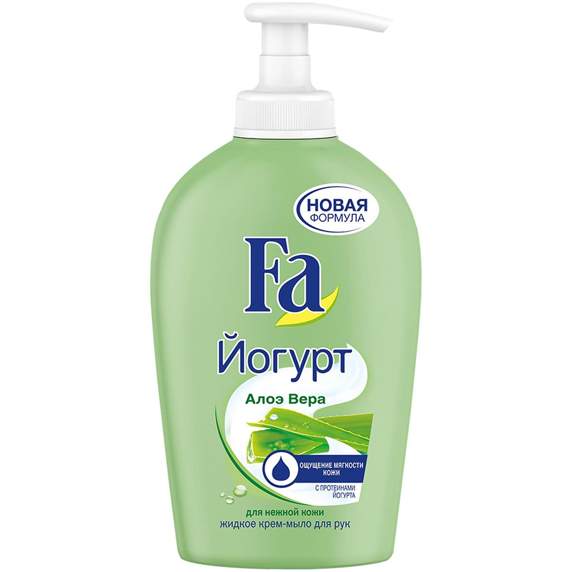 Жидкое крем-мыло Fa Yoghurt Алоэ Вера 250 мл