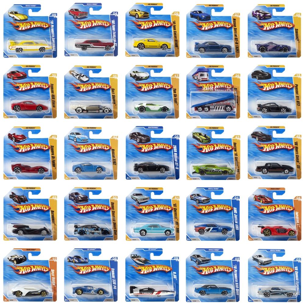 Машинки hw базовой коллекции в ассорт. фото