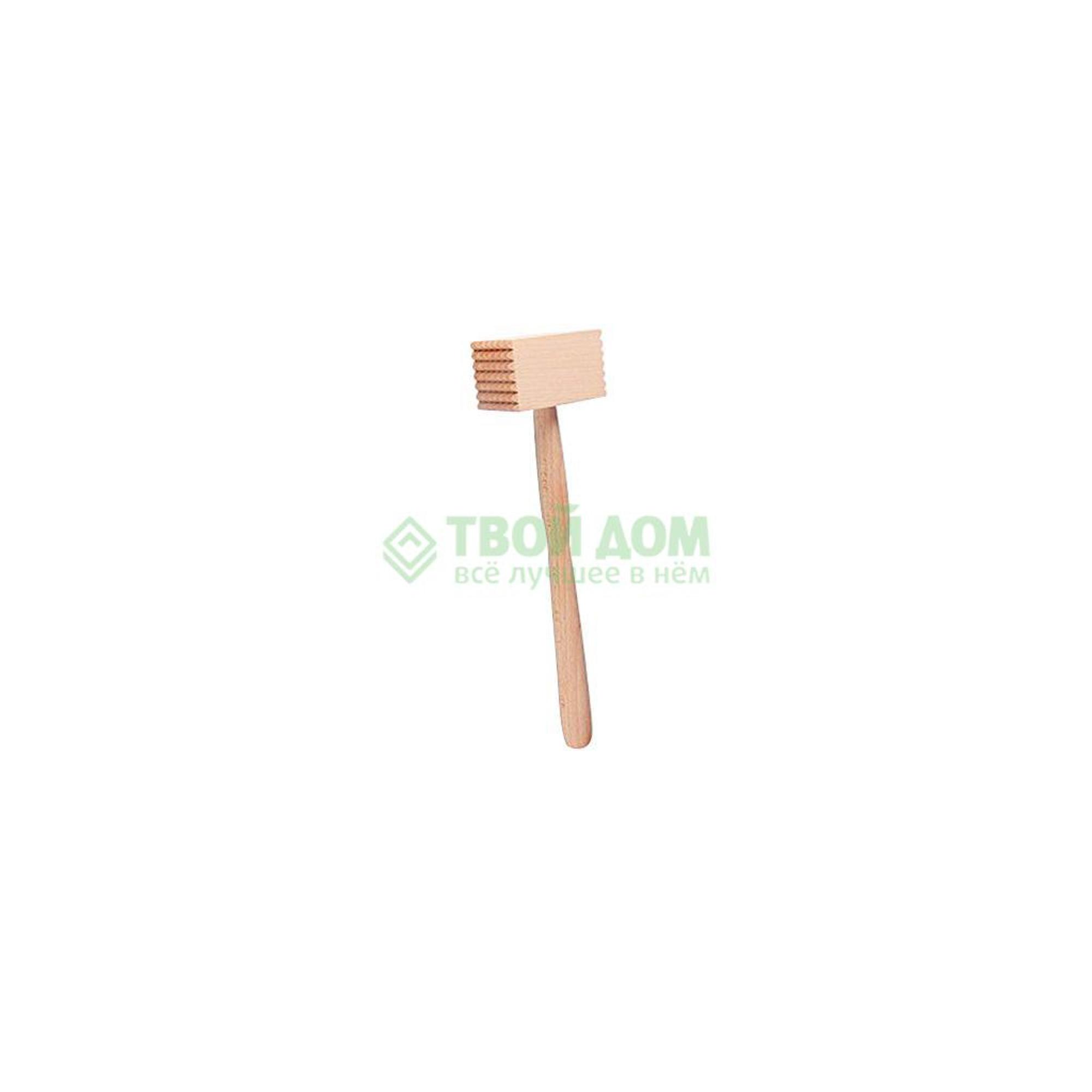 Молоток для отбивания мяса Fackelmann дерев 32см (31420/45031420) молоток для отбивания мяса 17см leo