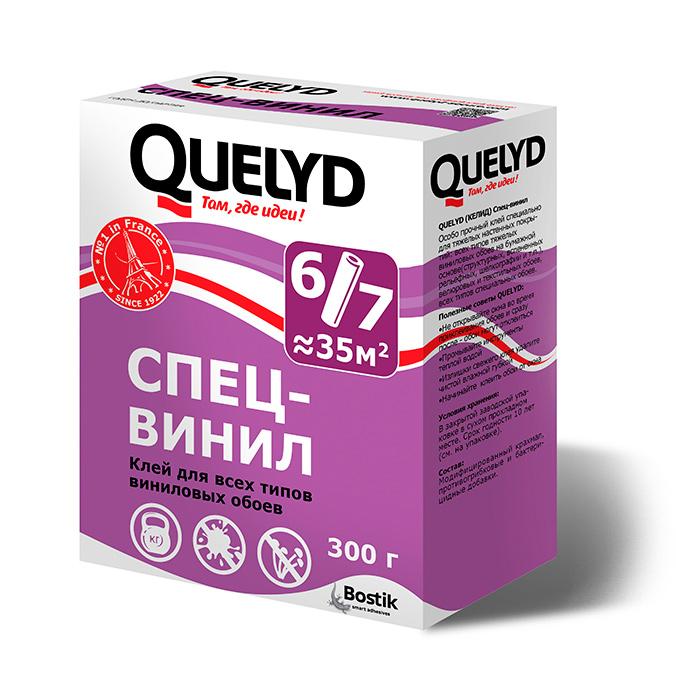 Фото - Клей Quelyd Спец-Винил 300 г клей для всех видов обоев quelyd с индикатором 150 г