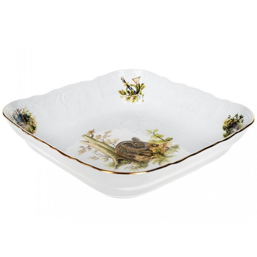 Салатник Thun 1794 Охотничьи сюжеты 25 см boulanger салатник стеклянный 25 см желтый