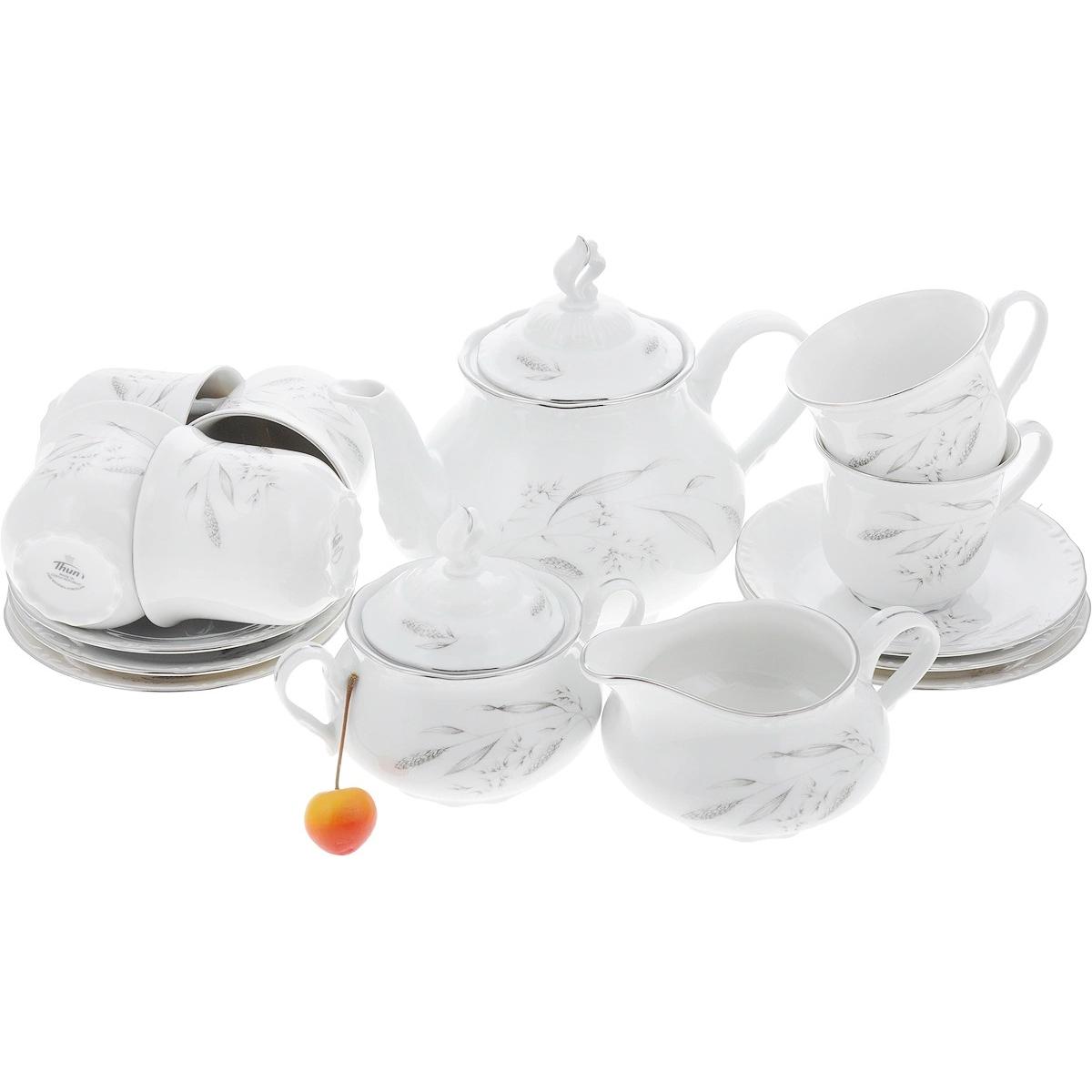 Чайный сервиз Thun 1794 6 персон 9 предметов Constance недорого