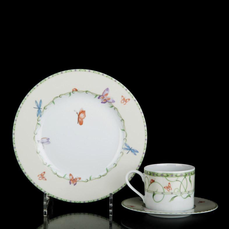 Набор чайный Tirschenreuth Баттерфляй 12 предметов набор салатников tirschenreuth из 6 предметов колин