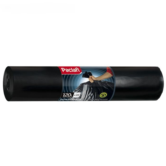 Мешки для мусора Paclan Power Bags 120 л 20 шт.