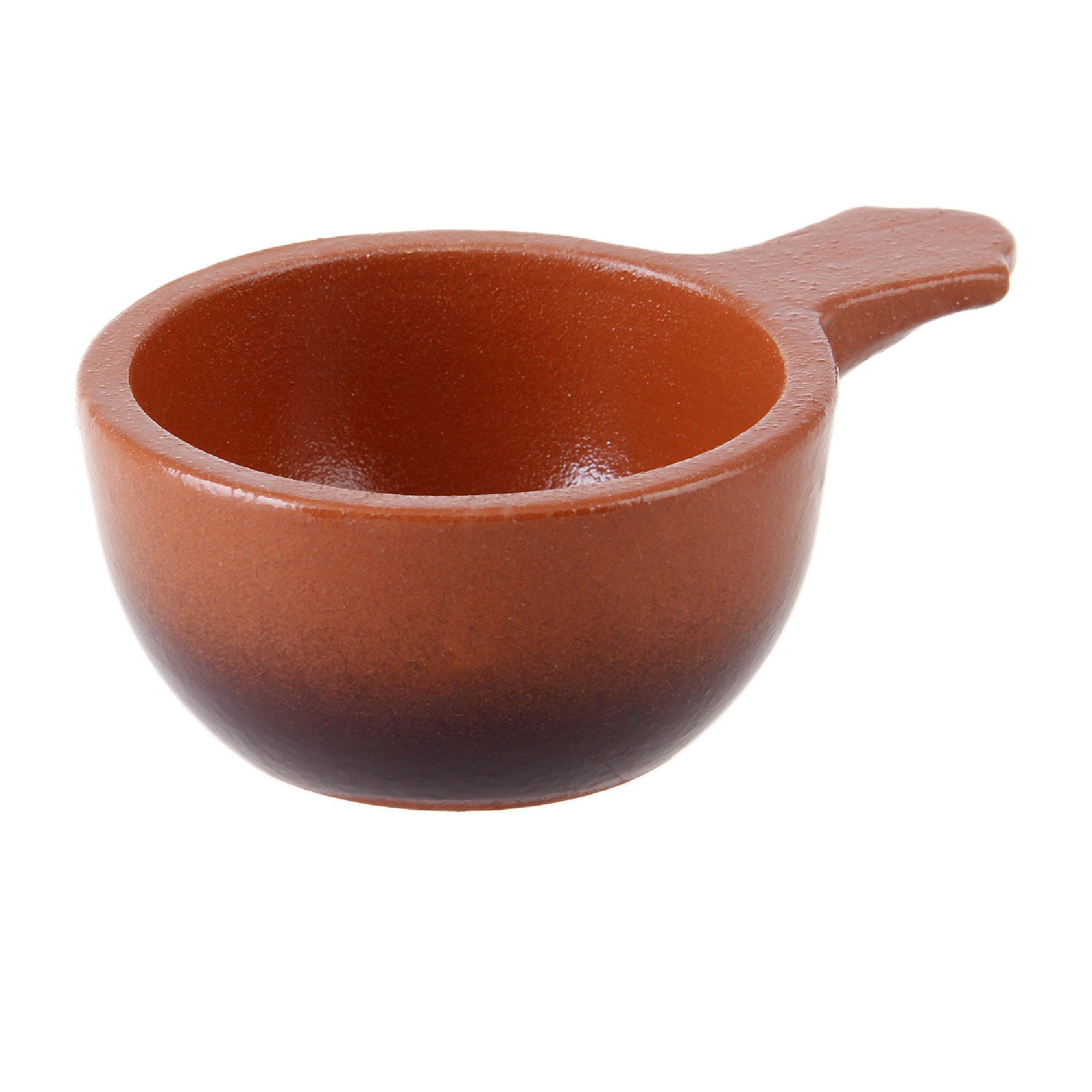 Фото - Кокотница для горячих закусок 0.1 л. Вятская керамика набор керамических горшков 3 предмета вятская керамика нбр вк 1 3