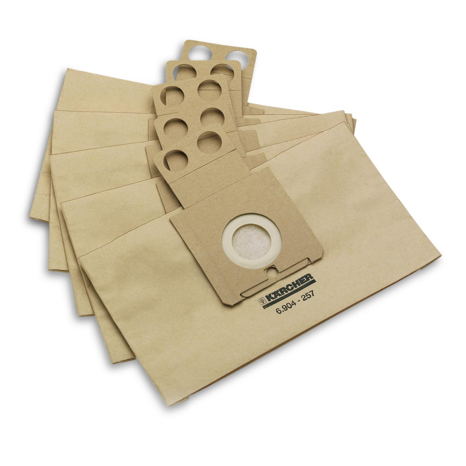 Фильтр-мешки Karcher для пылесоса-робота 5шт мешки для пылесоса bosch bbz16gall 16шт для g all