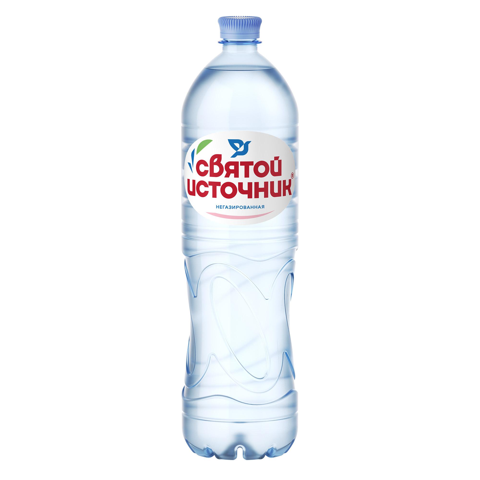 Вода питьевая Святой Источник негазированная 15 л.