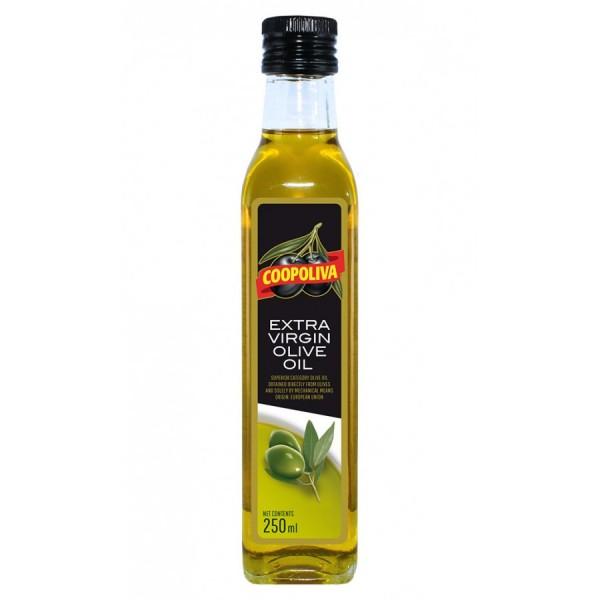 Масло оливковое COOPOLIVA Extra Virgin 250 мл korvel оливковое масло extra virgin греция данае 250 мл