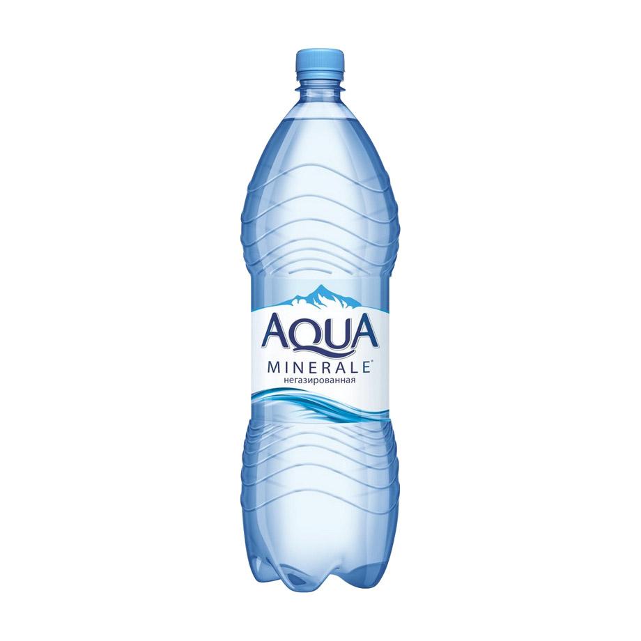 Фото - Вода питьевая Aqua Minerale негазированная 2 л вода aqua minerale малина 500 мл