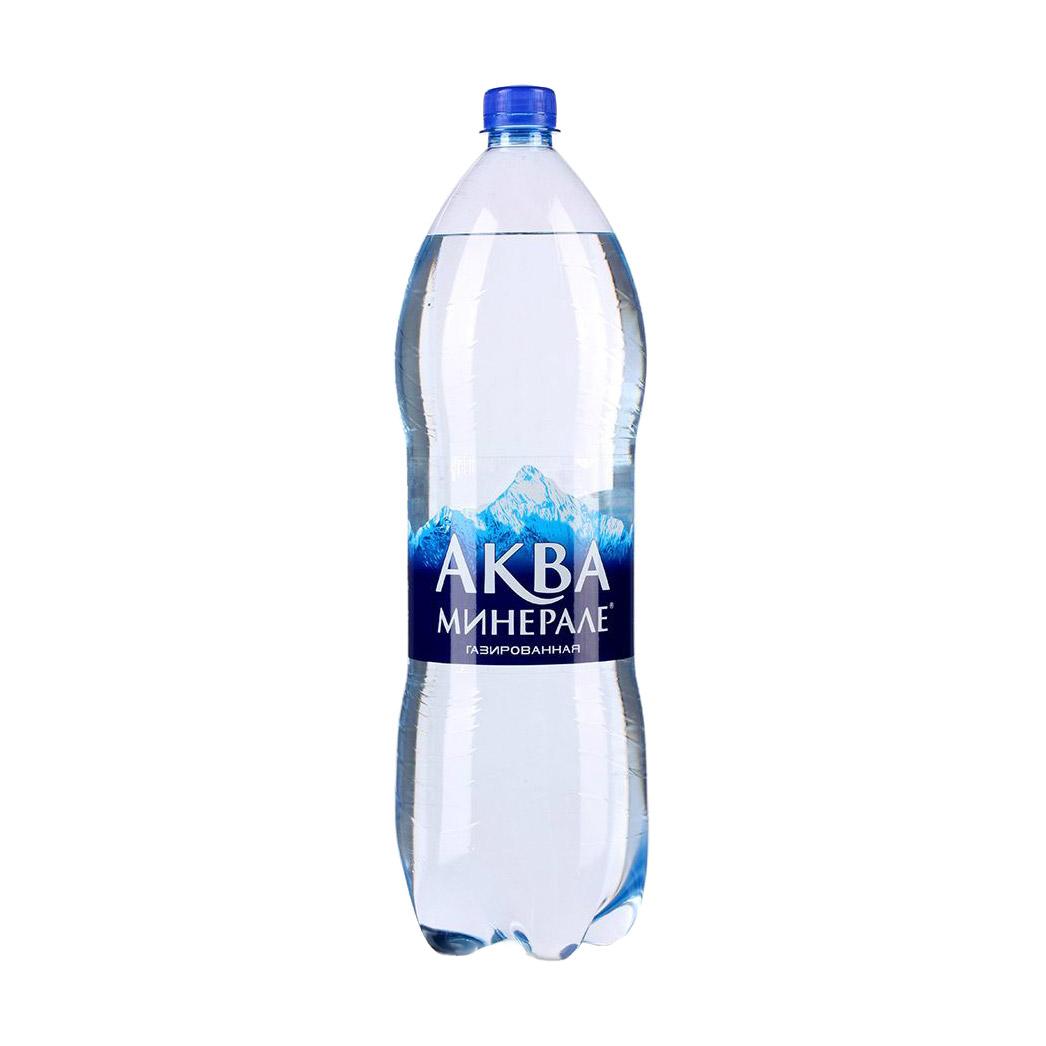 Фото - Вода питьевая Aqua Minerale газированная 2 л вода aqua minerale малина 500 мл