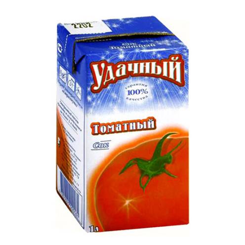 Сок Удачный Томатный 1 л