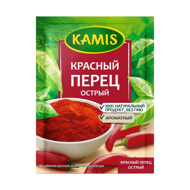 Красный перец острый Kamis 20 г перец красный cykoria s a острый 20 г
