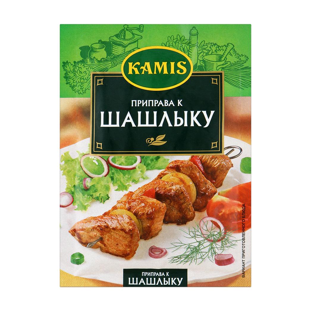 Приправа Kamis к шашлыку 25 г kamis приправа травы средиземноморья 4х10 г