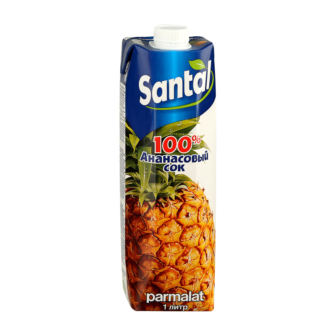 Сок Santal ананасовый 100% 1 л