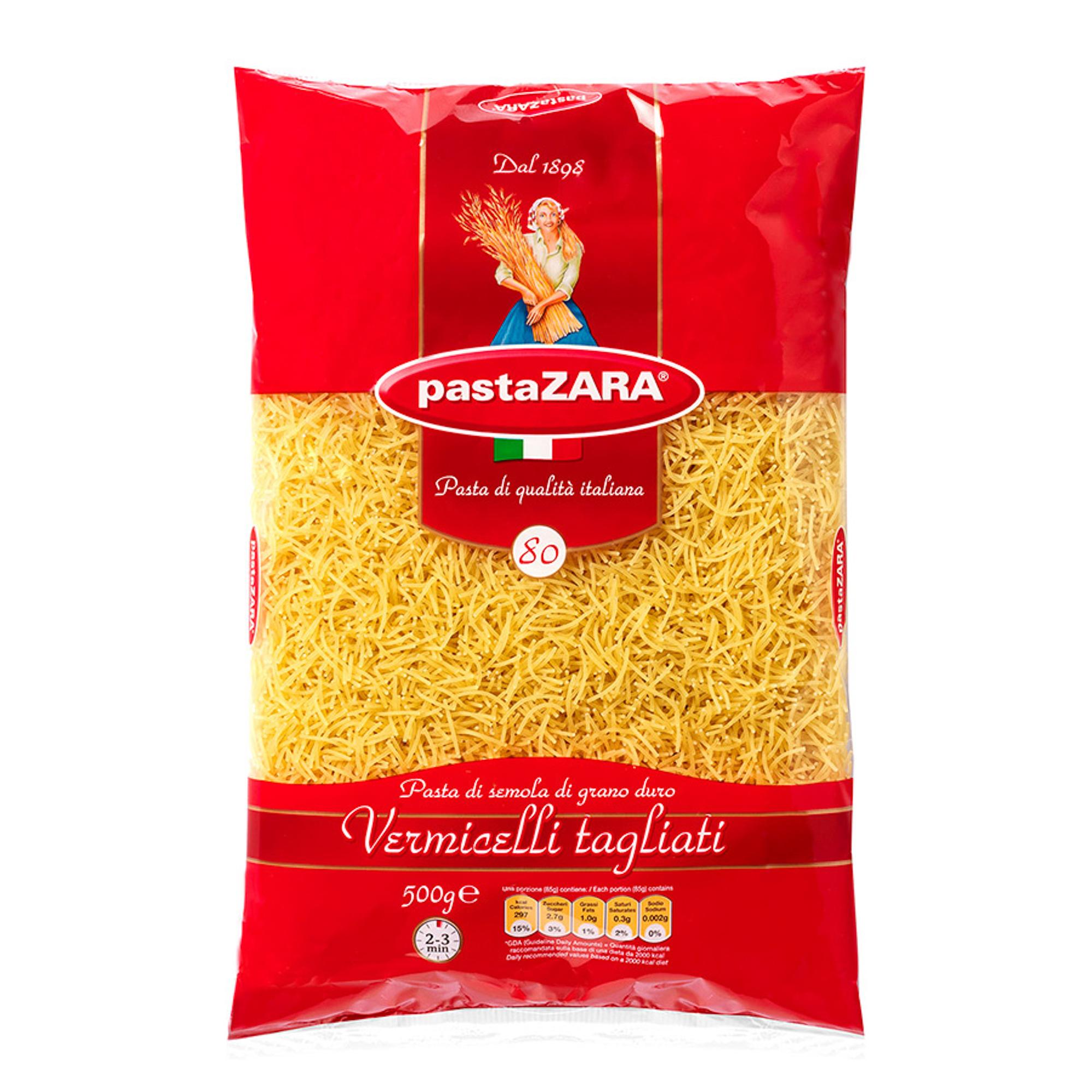 Вермишель Pasta Zara №80 500 г