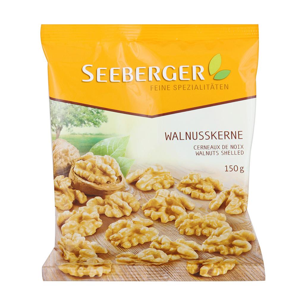 Грецкие орехи Seeberger экстра 150 г